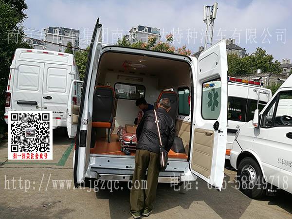 全顺v348新时代救护车顺利交付